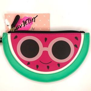 Luv Betsey Cool Watermelon Wristlet Coin Purse